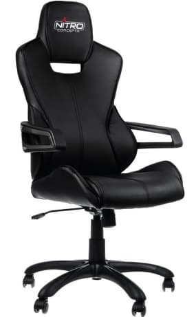 All black race chair is one of the best models