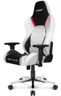 Arctica Series in white and black with red accents