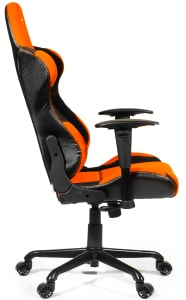 The reviewed Torretta XL in orange colours from the side