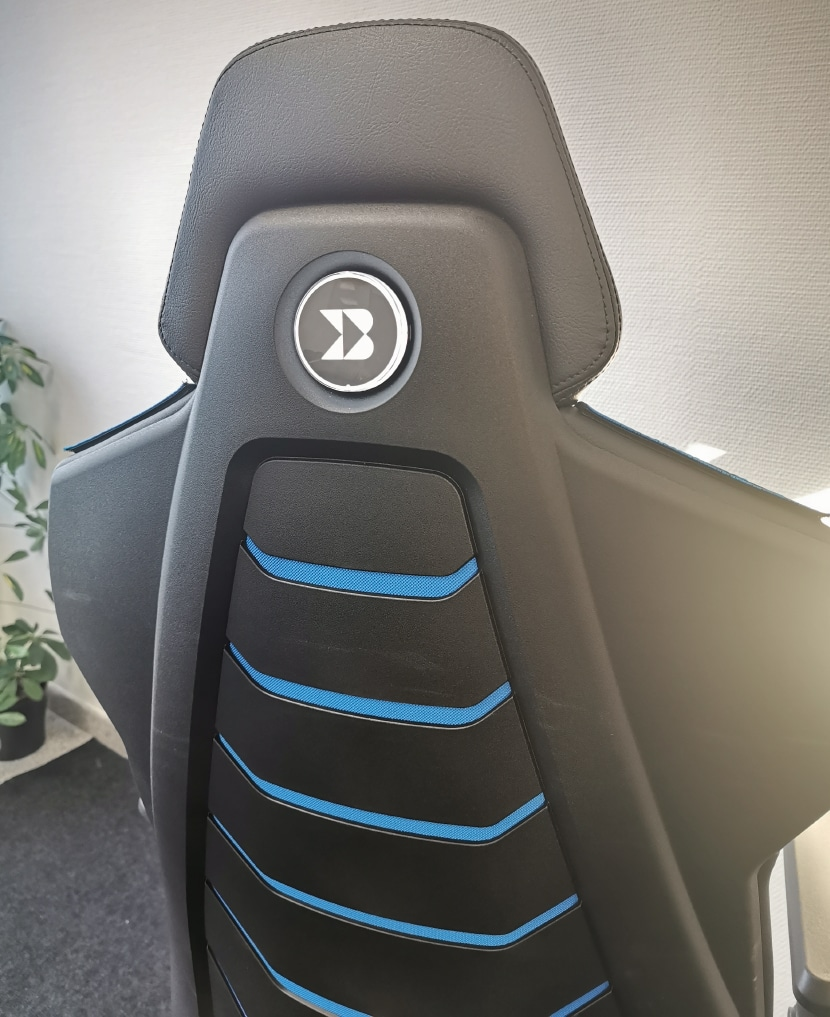 Backforce One backrest from behind