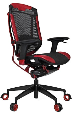 Best Vertagear seat of the Gaming Series in red and black