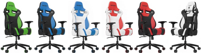 Colour variants of the SL4000 Rev. 2 chair.