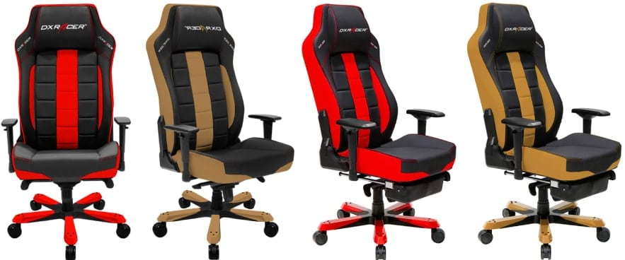 Colour variants of the Sentinel chair.