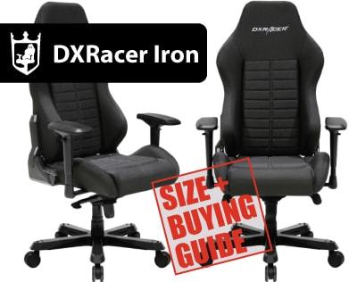 DXRacer Iron Series ▷ Size & Buying Guide on GOTURBACK UK!