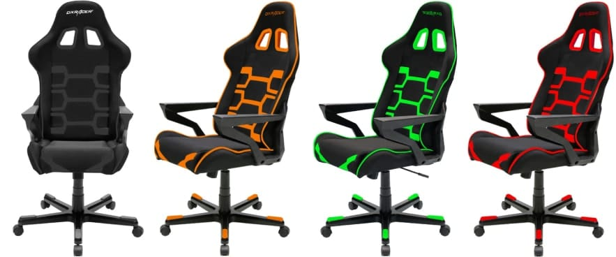 Colour variants of the Origin chair.