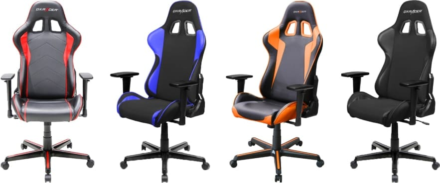 Colour variants of the Formula chair.
