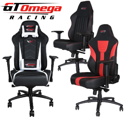 GT Omega gaming chair reviews, news, size and buying guide