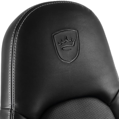 Thickly padded headrest of the new noblechairs ICON