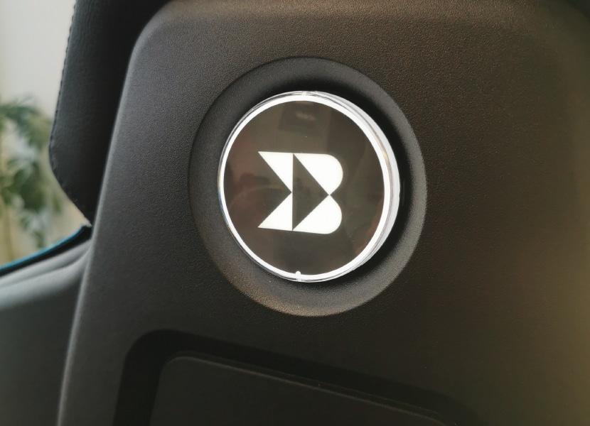 LED brooch backrest
