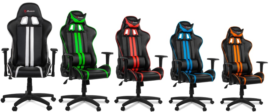 Colour variants of the Mezzo chair.