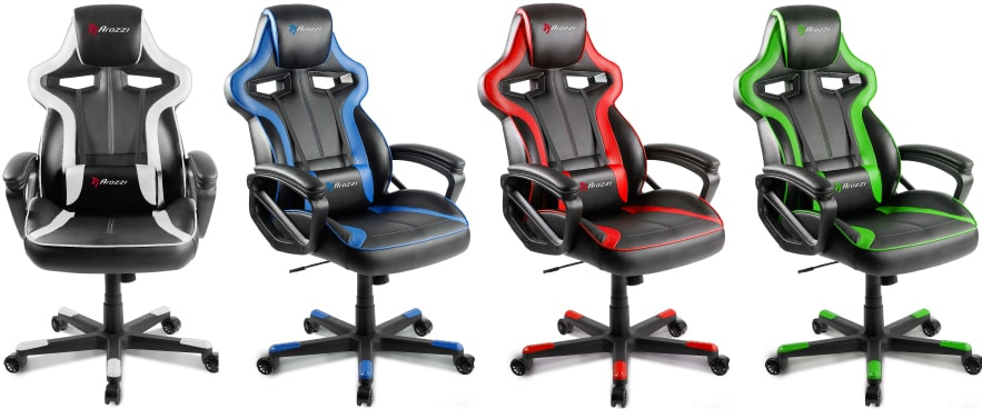 Colour variants of the Milano chair.