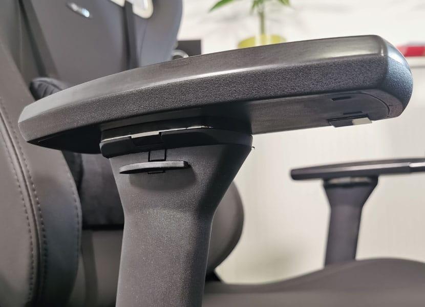 new metal armrest