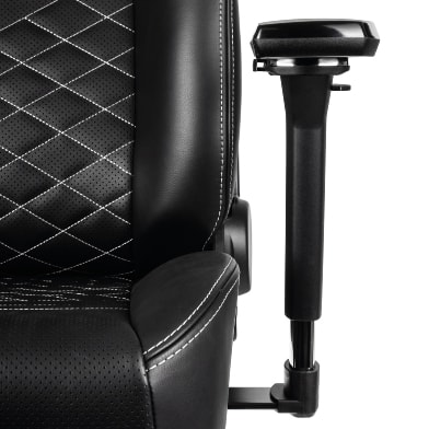 New armrest with black metal and a polished top
