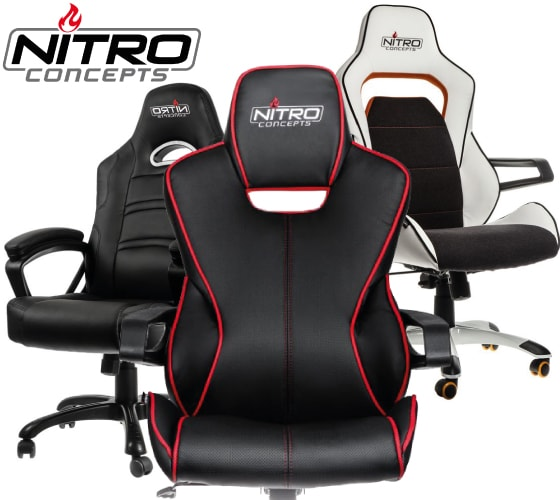 Nitro Concepts gaming chair reviews, news, size and buying guide