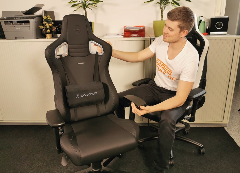 buy noblechairs black edition
