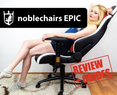 noblechairs EPIC gaming chair review