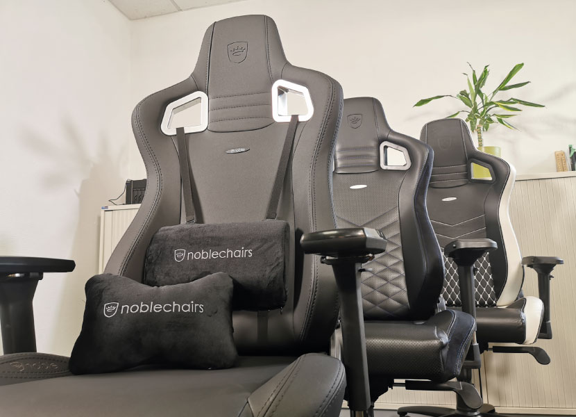noblechairs epic pu genuine leather and black edition