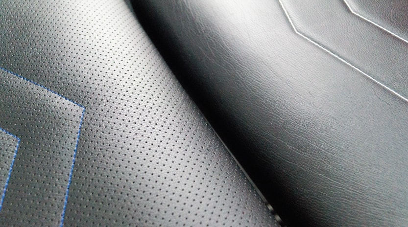 perforated PU-leather