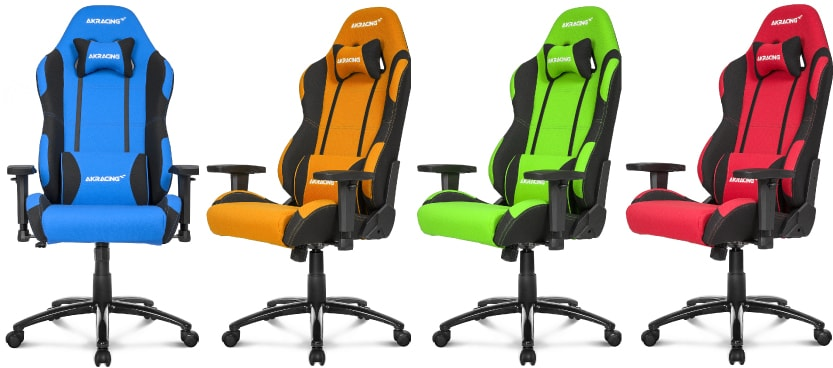 Available colour variants you can buy in blue, green, orange and red