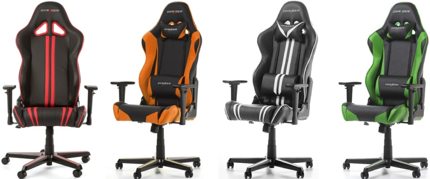 Colour variants of the Racing chair.
