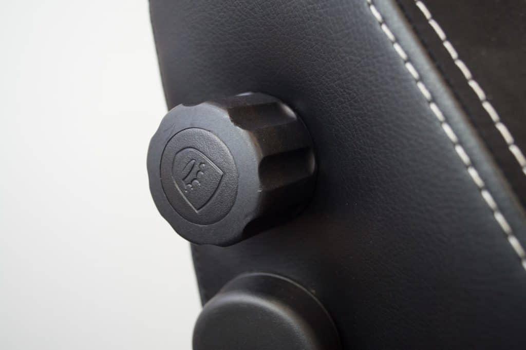 Wheel lumbar support
