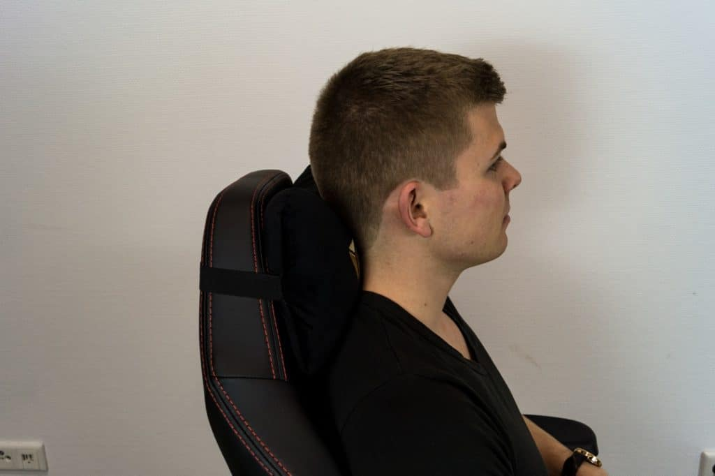 Backrest at 189cm