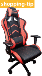 Shopping tip for the Player chair in red and black