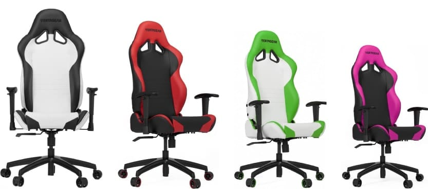 Colour variants of the SL2000 chair.
