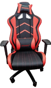 Small picture of the reviewed Player Series in black and red.