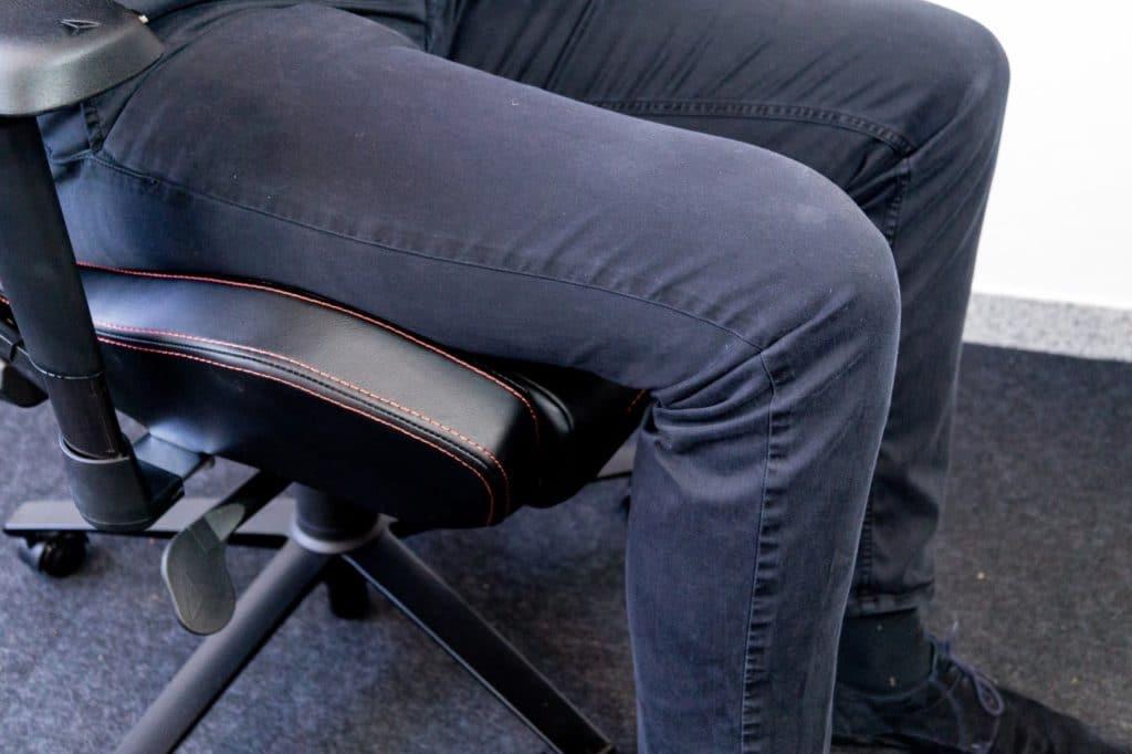 Tjorven test leg seat