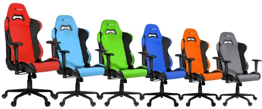 Colour variants of the Torretta chair.