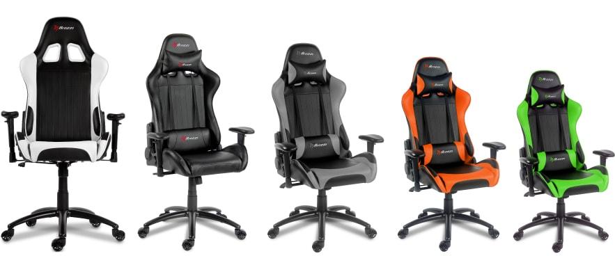 Colour variants of the Verona chair.