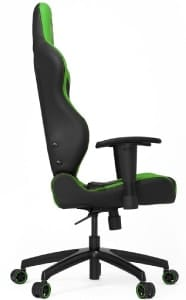 The reviewed SL2000 in black and green colours from the side